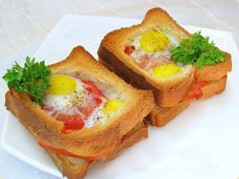 Шикарный и вкусный завтрак для настоящих мужчин