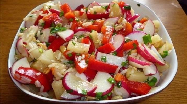 Горячий юго — восточный салат
