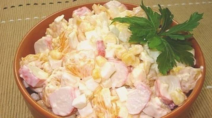 Коронный салат на праздничном столе — королевский салат