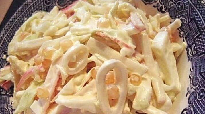 Мартовский салат