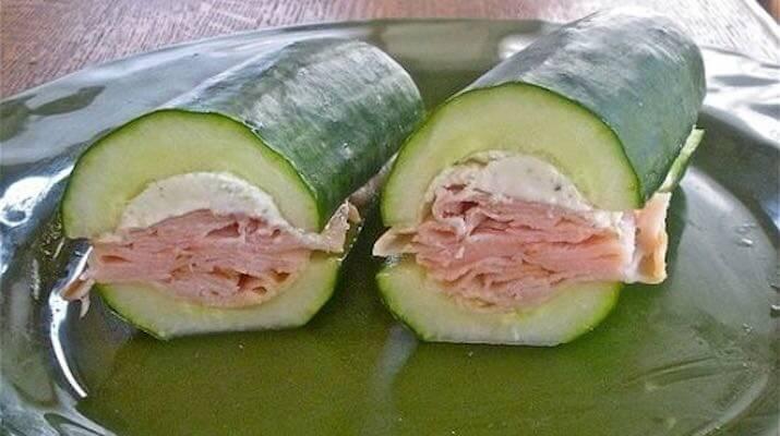Вкусные бутерброды без хлеба