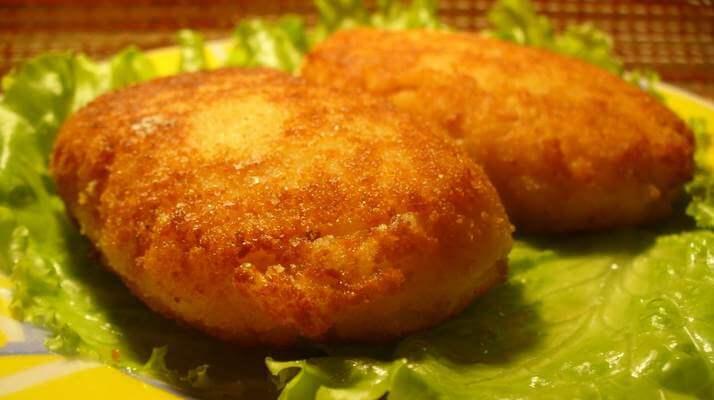 Котлеты из вареной картошки