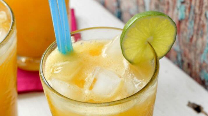 Лайм и манго