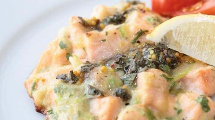 Нагетсы из семги и овощей