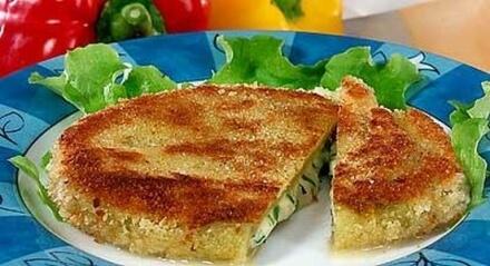 Вегетарианский шницель