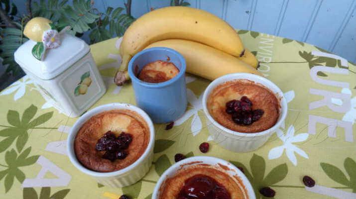 Карамельно-кремовый десерт с бананом