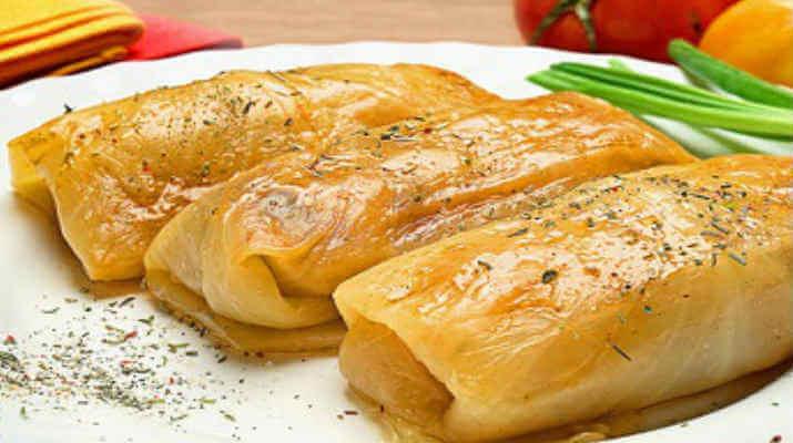 Запеченная свинина с интригующим названием «Оливье»