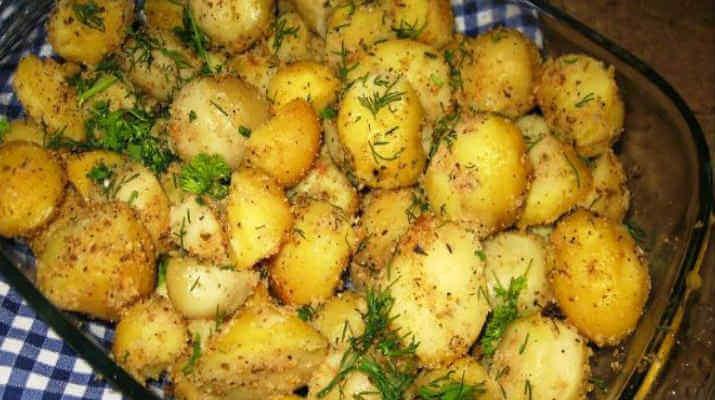 Картошка в белковом кляре
