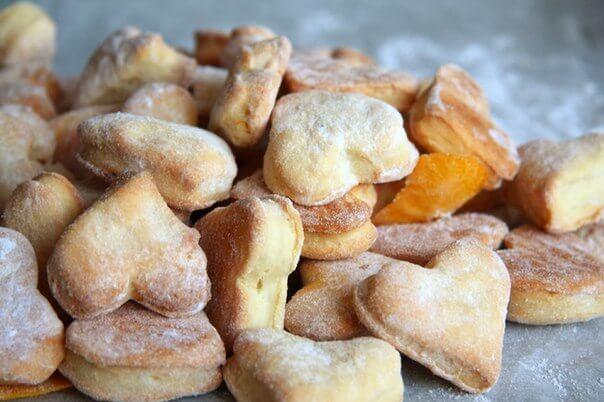 Печенье из теста на сметане