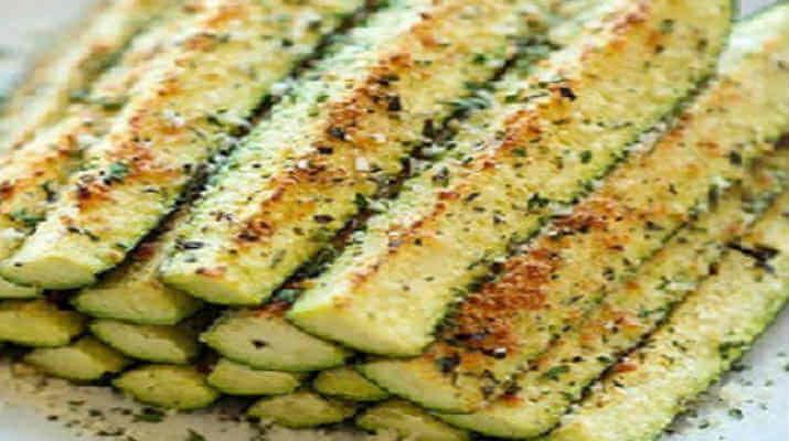 Сырные цуккини запеченные в духовке