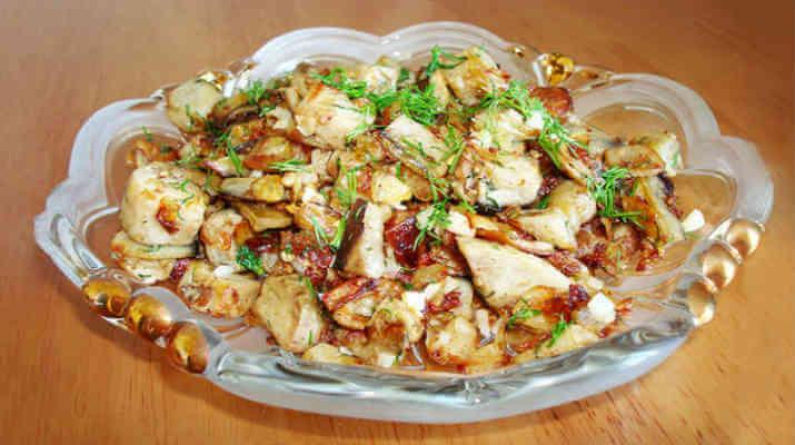 Пряный картофель с беконом