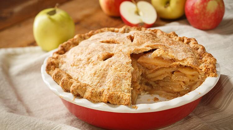 Божественно вкусный, нежный яблочный пирог с корицей