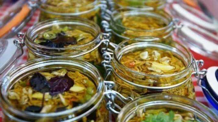 Зимний баклажанный салат «Десятка»