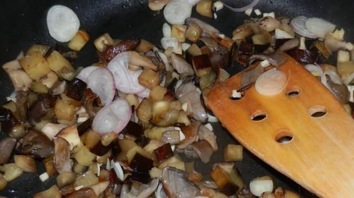 Баклажаны, как грибы