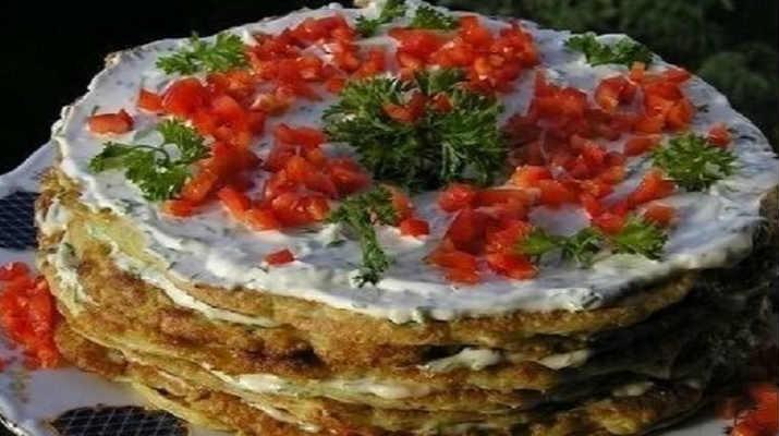 Торт из цукини