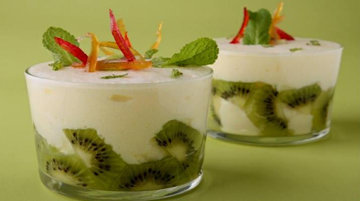 Вкусный и дешевый десерт из зефира с фруктами