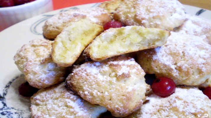 Печенье с яблоками к чаю