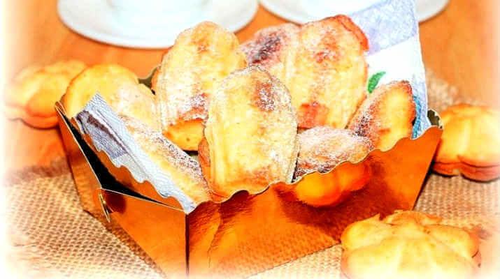 Апельсиновое печенье с ликером