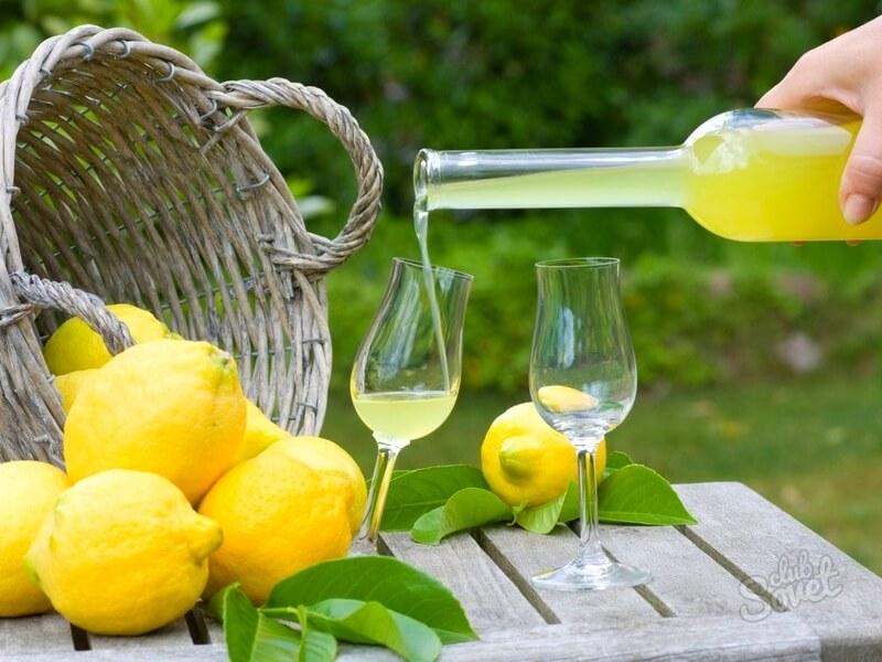 Домашнее лимончелло