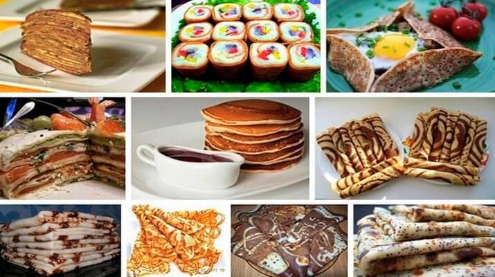 ТОП-15 лучших рецептов блинов на Масленицу 2016