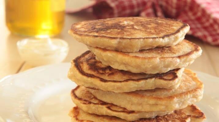 Рецепты правильного питания от диетолога: овсяные оладушки