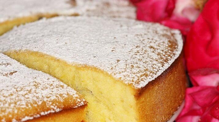 Высокий, нежный бисквит для торта без духовки
