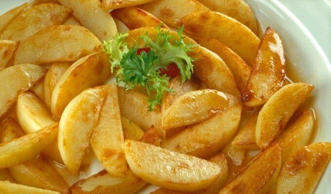 Картофель к праздничному столу — быстро, вкусно, красиво!
