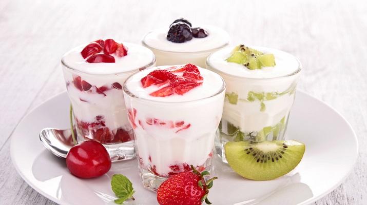 Домашний йогурт из топленого молока с корицей