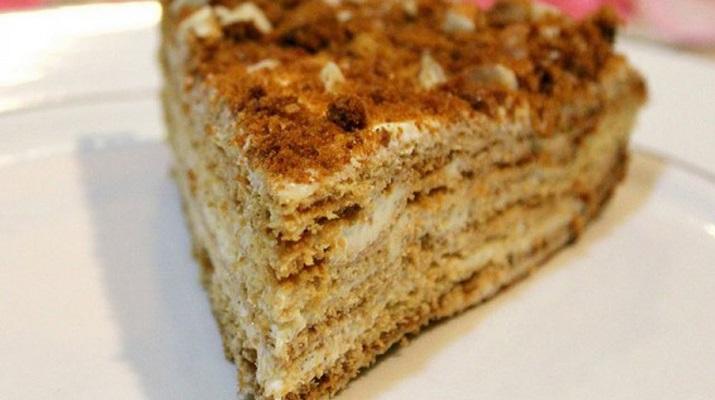 Торт «Пуховик»