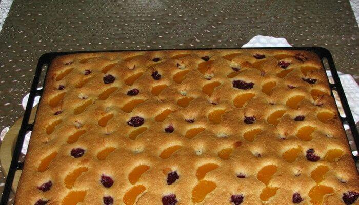 Пирог на минералке и подсолнечном масле