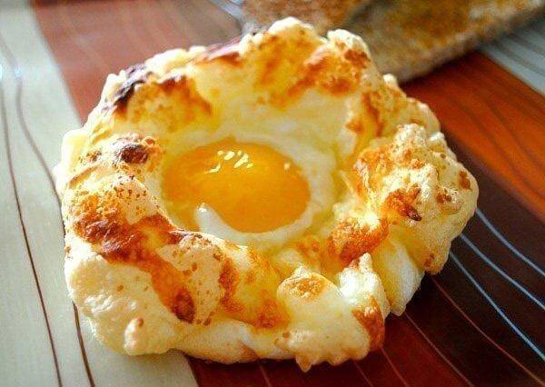 «Гнезда» — нежнейший завтрак. В восторге вся семья!