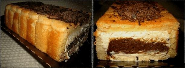 Нежнейший пирог без выпечки из печенья «Савоярди» — изюминка десерта в начинке!