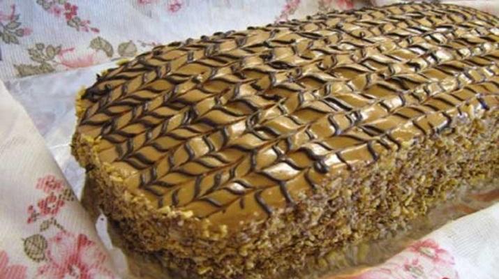 Доступный торт «Семистаканник» из старых кулинарных записей