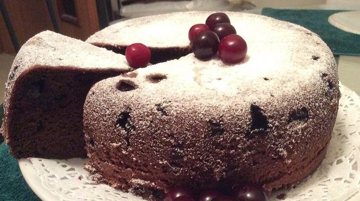 Шоколадный пирог на Пасху