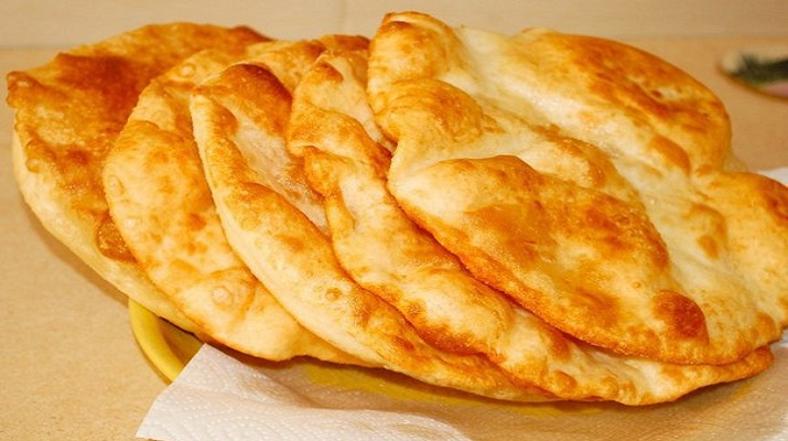 Лепешки «Лангошечки» на картошке