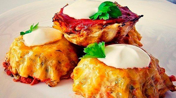 Голубцы «Симпатяшки» запекаются в формочках. Просто готовить — приятно есть!