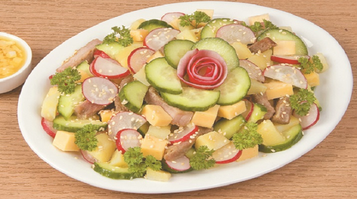 Лучшие салаты из редиски