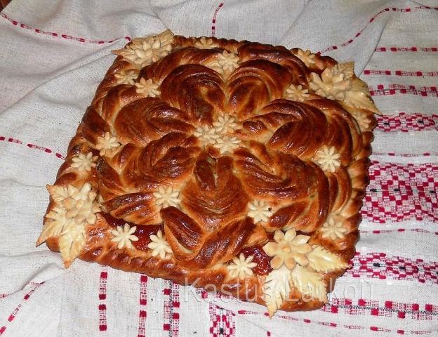 Как украсить пирог мастер класс