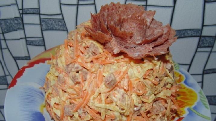 Любимый салат мужа — мастер-класс