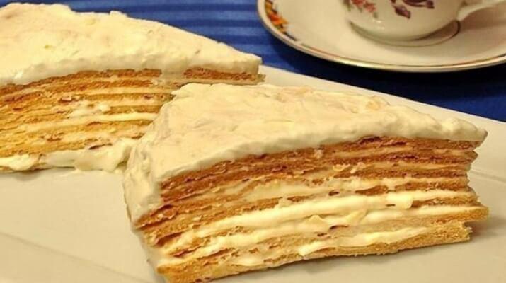 Торт «Парижский коктейль» так и тает во рту!