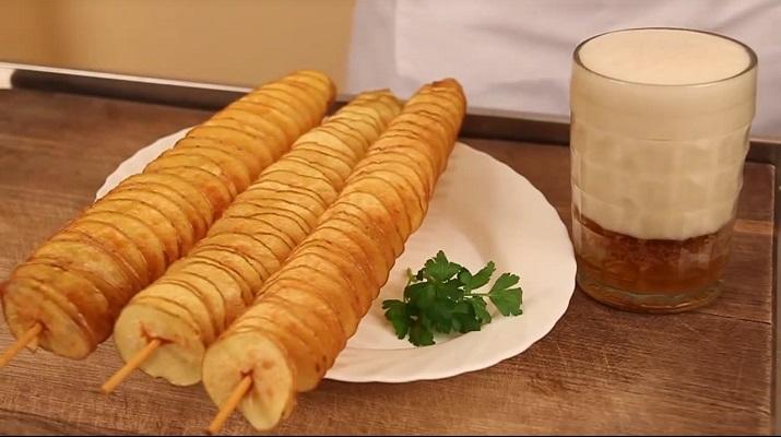 Спиральная картошка — вкусно и необычно