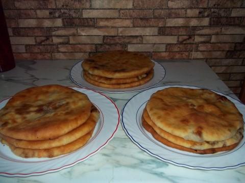 Осетинские пироги на сковороде