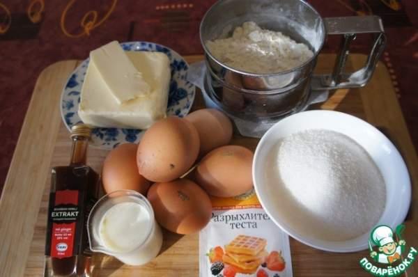 Юлькин пирог с персиками и грушей