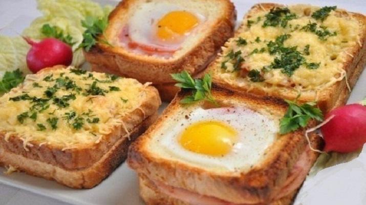 Необычные и очень вкусные бутерброды к завтраку