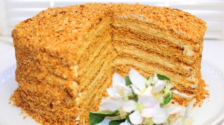 Торт Медовик. Самый вкусный и бюджетный рецепт