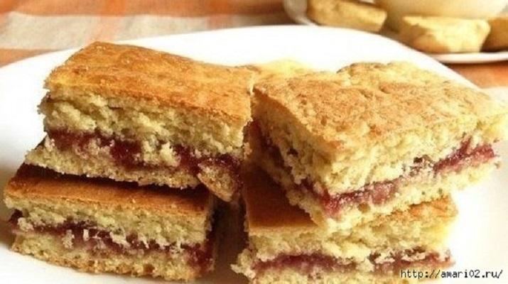 Утилизируем старый кефир — готовим вкусное печенье на кефире с начинкой из любимого варенья