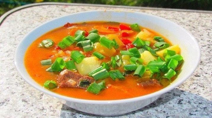 Бограч — венгерский суп