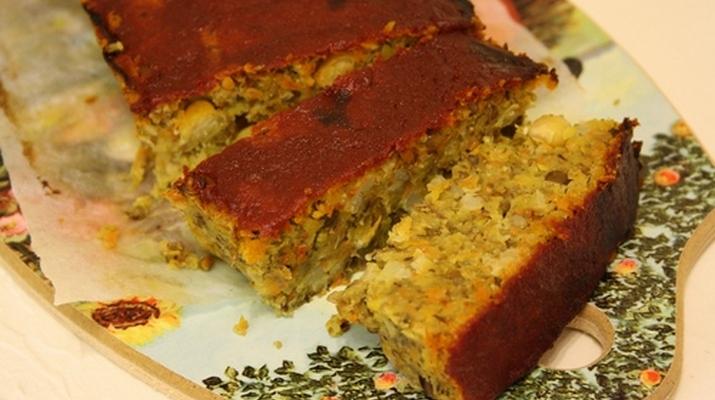 Бобово-овощной хлеб
