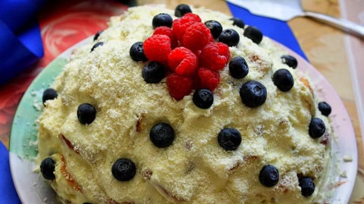 Рецепты праздничны тортов с фото