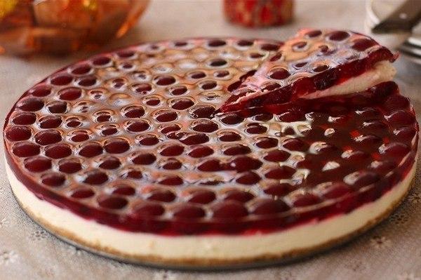 Вариация исполнения рецепта с вишнями